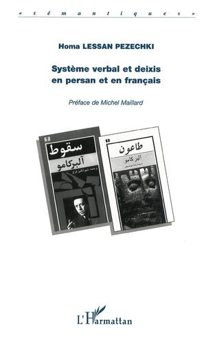 Couverture SYSTÈME VERBAL ET DEIXIS EN PERSAN ET EN FRANÇAIS