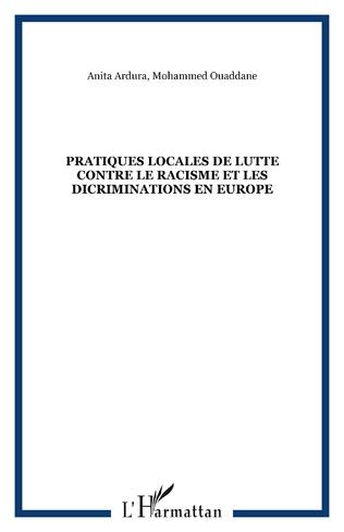 Couverture PRATIQUES LOCALES DE LUTTE CONTRE LE RACISME ET LES DICRIMINATIONS EN EUROPE