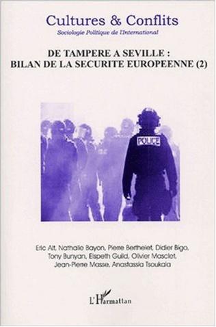 Couverture DE TAMPERE A SEVILLE : BILAN DE LA SÉCURITÉ EUROPÉENNE (I)