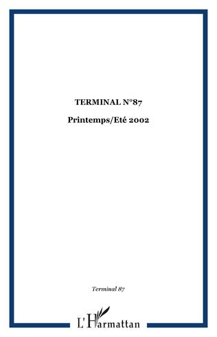 Couverture TERMINAL N°87