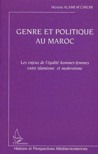 Couverture GENRE ET POLITIQUE AU MAROC