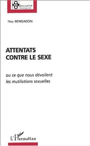 Couverture ATTENTATS CONTRE LE SEXE