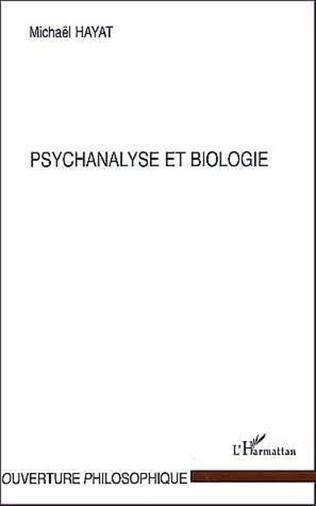 Couverture PSYCHANALYSE ET BIOLOGIE