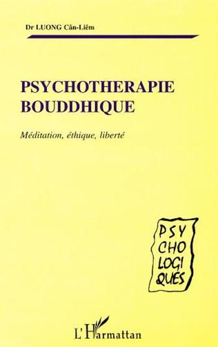 Couverture PSYCHOTHERAPIE BOUDDHIQUE