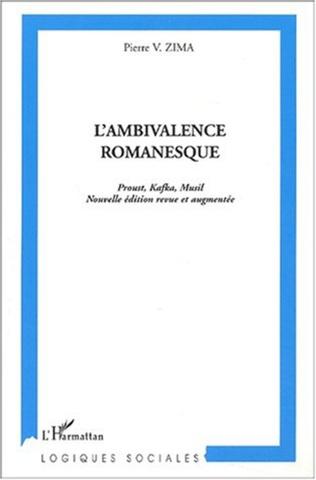 Couverture L'AMBIVALENCE ROMANESQUE