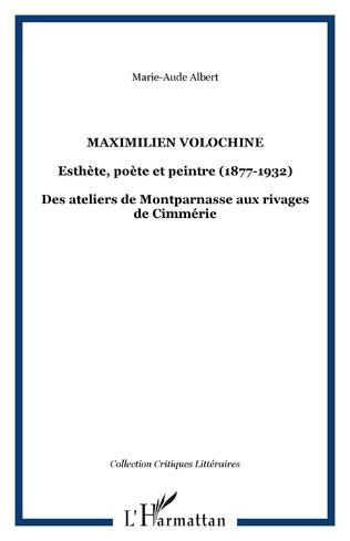 Couverture MAXIMILIEN VOLOCHINE
