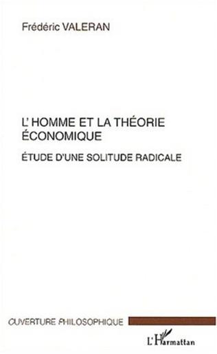 Couverture L'HOMME ET LA THÉORIE ÉCONOMIQUE