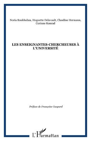 Couverture LES ENSEIGNANTES-CHERCHEUSES À L'UNIVERSITÉ
