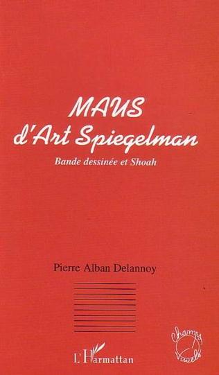 Couverture MAUS D'ART SPIEGELMAN