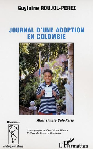 Couverture LE JOURNAL D'UNE ADOPTION EN COLOMBIE