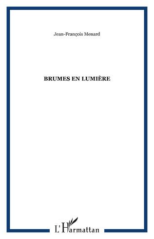 Couverture BRUMES EN LUMIÈRE