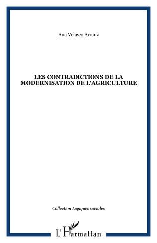 Couverture LES CONTRADICTIONS DE LA MODERNISATION DE L'AGRICULTURE