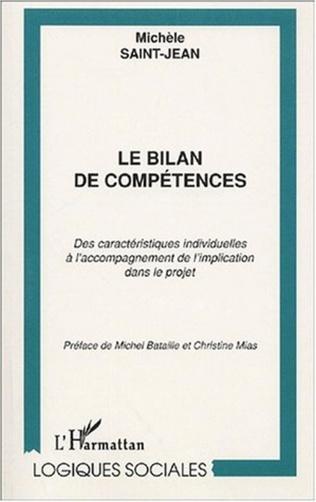 Couverture LE BILAN DE COMPÉTENCES