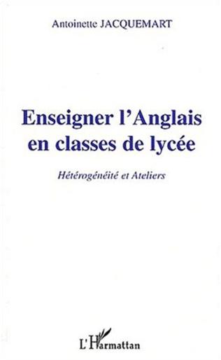 Couverture ENSEIGNER L'ANGLAIS EN CLASSE DE LYCÉE