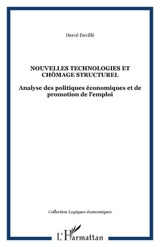 Couverture NOUVELLES TECHNOLOGIES ET CHÔMAGE STRUCTUREL