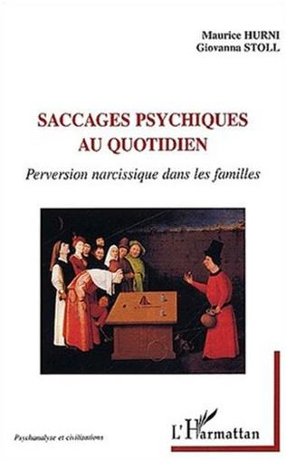 Couverture SACCAGES PSYCHIQUES AU QUOTIDIEN
