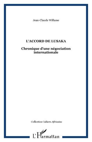 Couverture L'ACCORD DE LUSAKA