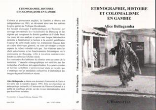 Couverture ETHNOGRAPHIE, HISTOIRE ET COLONIALISME EN GAMBIE