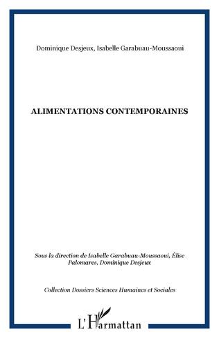 Couverture ALIMENTATIONS CONTEMPORAINES