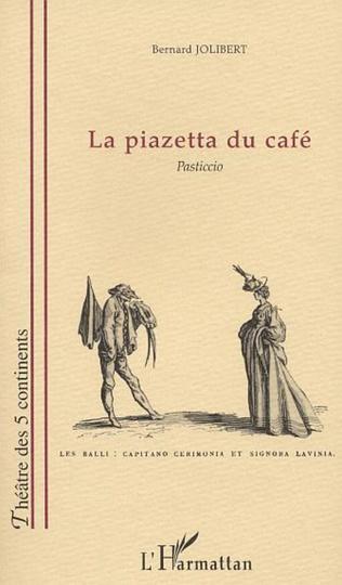 Couverture LA PIAZETTA DU CAFÉ