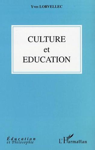 Couverture CULTURE ET EDUCATION