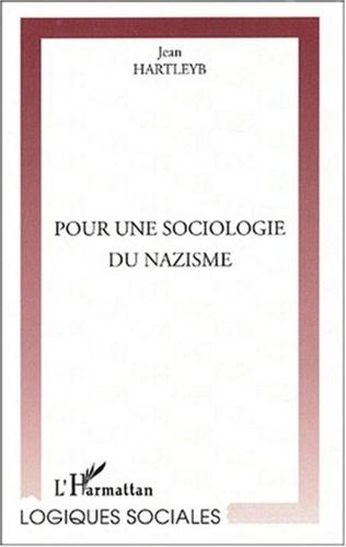 Couverture POUR UNE SOCIOLOGIE DU NAZISME