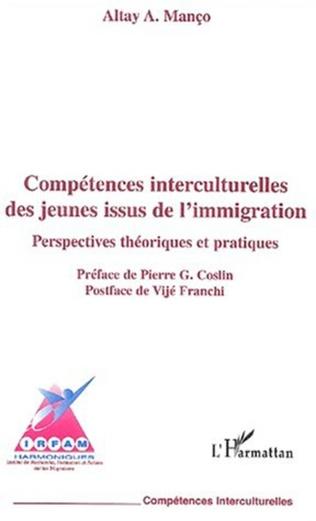 Couverture COMPÉTENCES INTERCULTURELLES DES JEUNES ISSUS DE L'IMMIGRATION