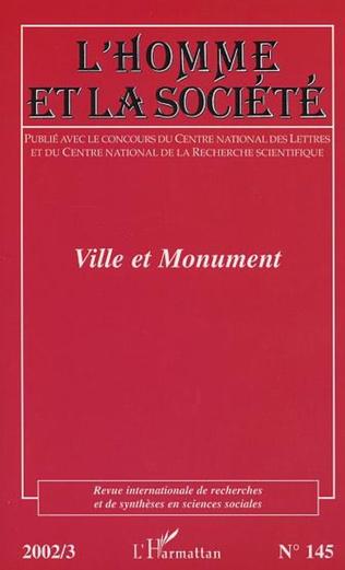 Couverture VILLE ET MONUMENT