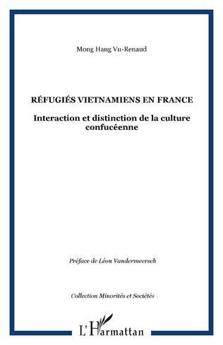 Couverture Réfugiés vietnamiens en France