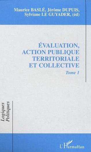 Couverture EVALUATION, ACTION PUBLIQUE TERRITORIALE ET COLLECTIVE