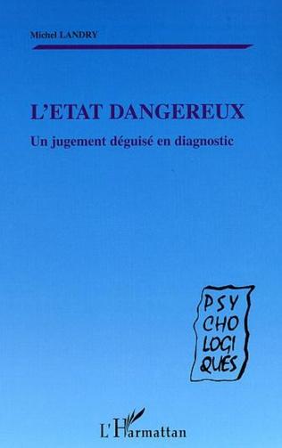 Couverture L'ÉTAT DANGEREUX
