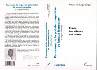 Couverture PANORAMA DE LA POESIE CONGOLAISE DE LANGUE FRANCAISE (Congo-Kinshasa)