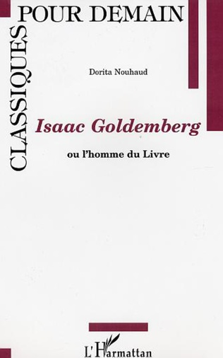 Couverture ISAAC GOLDEMBERG