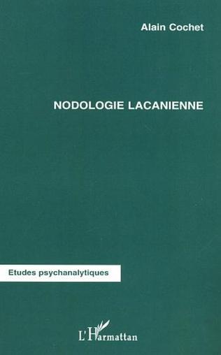 Couverture NODOLOGIE LACANIENNE