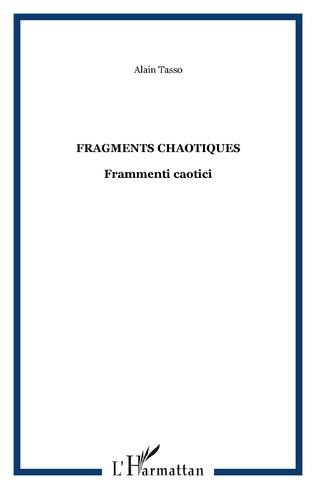Couverture Fragments chaotiques