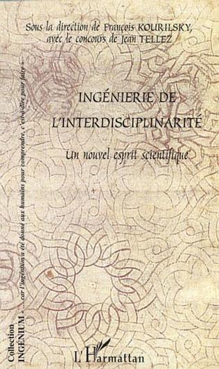 Couverture INGENIERIE DE L'INTERDISCIPLINARITE