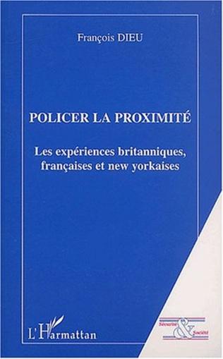 Couverture POLICIER LA PROXIMITE