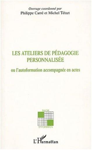 Couverture LES ATELIERS DE PEDAGOGIE PERSONNALISEE