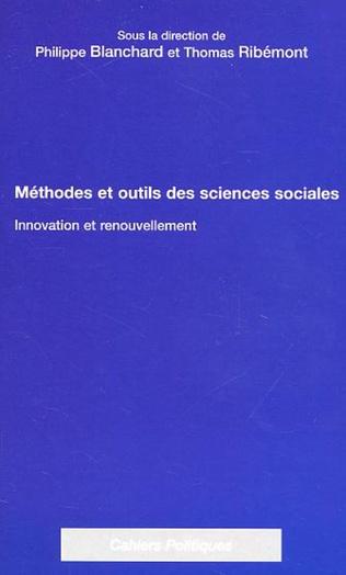 Couverture METHODES ET OUTILS DES SCIENCES SOCIALES