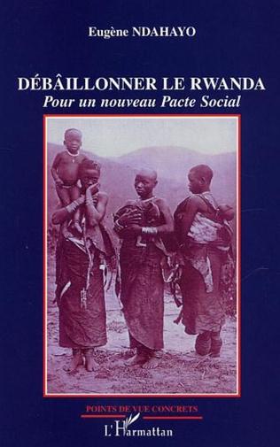 Couverture Débâillonner le Rwanda