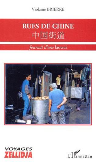 Couverture Rues de Chine