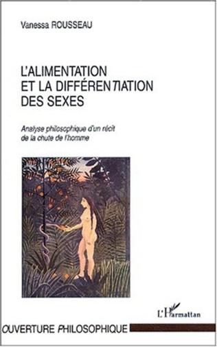 Couverture ALIMENTATION ET LA DIFFERENTIATION DES SEXES
