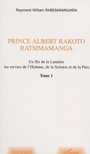 Couverture PRINCE ALBERT RAKOTO RATSIMAMANGA