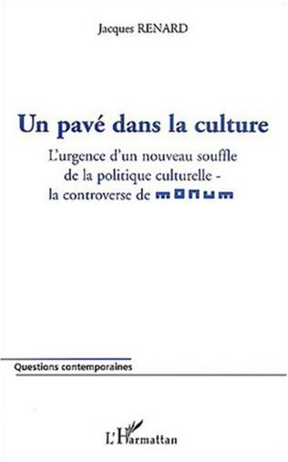 Couverture Un pavé dans la culture