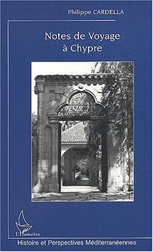 Couverture Notes de voyage à Chypre