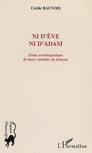 Couverture NID'EVE NI D'ADAM