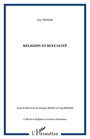 Couverture Religion et sexualité