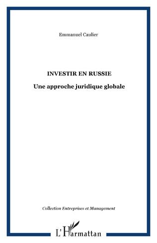 Couverture INVESTIR EN RUSSIE