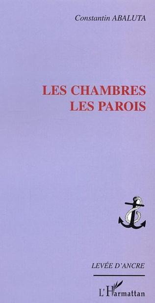 Couverture LES CHAMBRES LES PAROIS