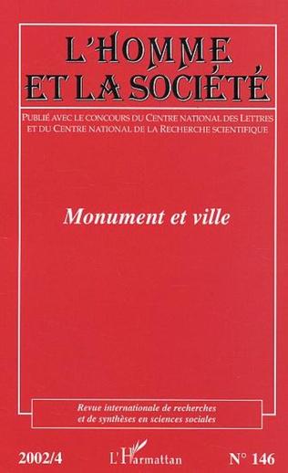 Couverture Monument et ville